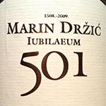Crvik Malvasija Dubrovačka Marin Držić 501 '09