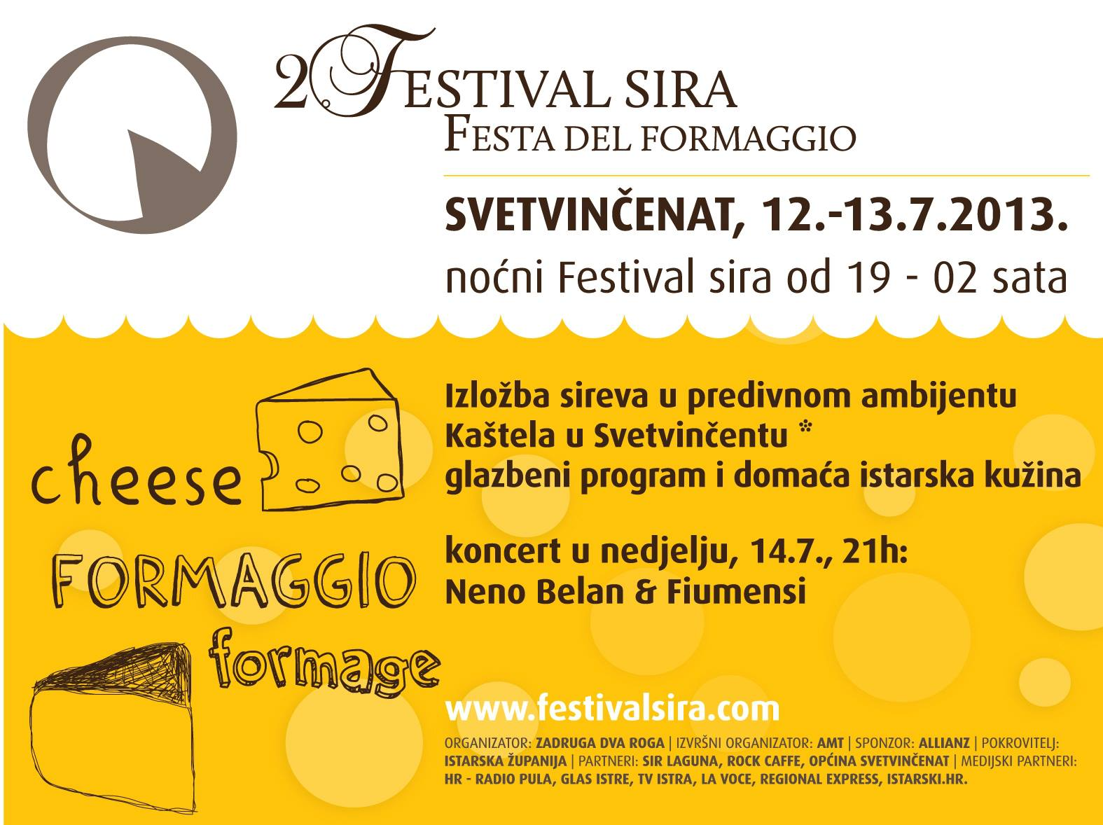 Festival sira u Svetvin entu